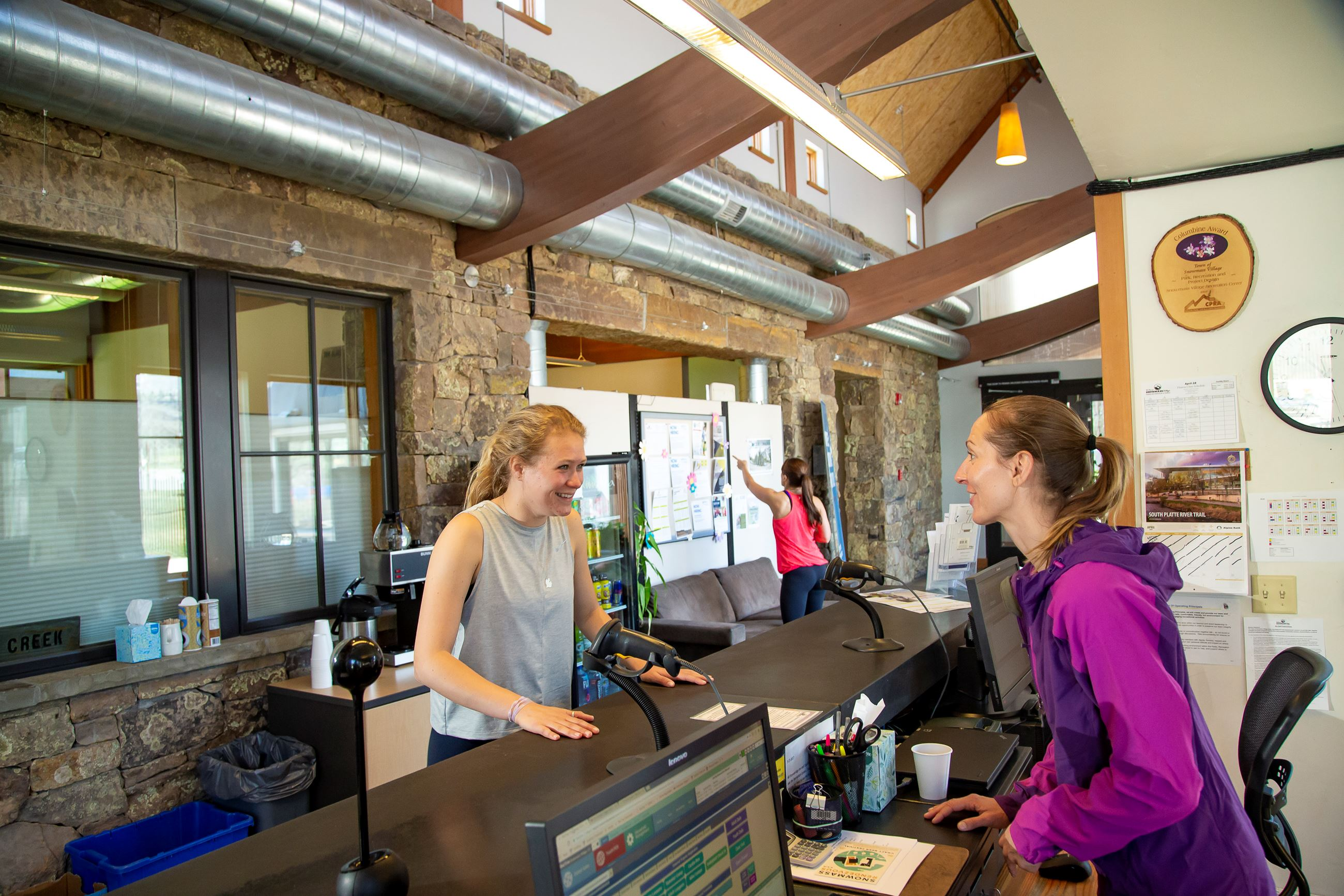 Snowmass Village Rec Center Front Desk